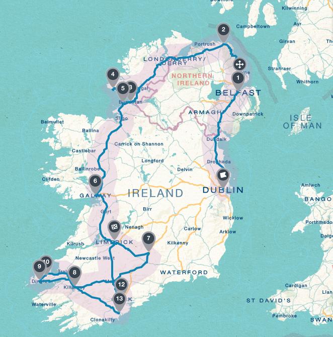 Our Ireland Road Trip Itinerary Between Dawn A Dream - Ireland trip